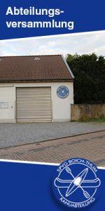 Abteilungsversammlung mit Wahlen @ Bürgerhalle Kreuzau - Boich