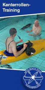 Kenterrollen-Training @ Lehrschwimmbecken