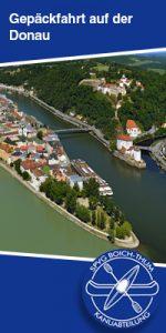 Gepäckfahrt auf der Donau